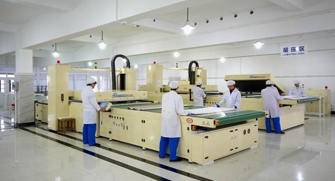 Advanced Module Production Line Panorama