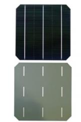 156 Mono-crystalline Silicon Solar Cell 3 Busbar