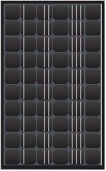 TN Solar 210M-260M Black