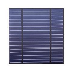 5.5V 3.7W Epoxy photovoltaic panel