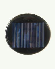 6V 45mA Elliptical Solar Panel 0.27