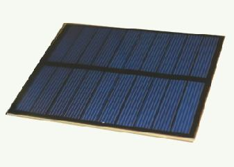 5 Volt 100mA PET Photovoltaic Solar Panel 0.5
