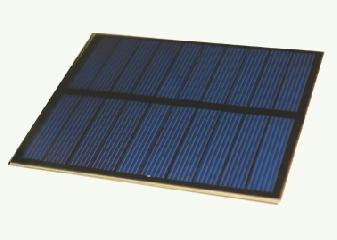 5 Volt 100mA PET Photovoltaic Solar Panel