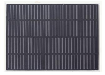 3W 5 Volt PET Solar Photovoltaic Panel