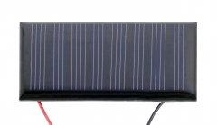 60mA 4V 0.24W Solar Panel with Lead Wires