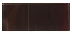 4.8V 12mA Thin Film A-Si Solar Cell 0.0576