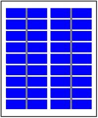 9 Volt 2.7 Watt 300mA PV module   Solarmodule    Pannelli Fotovoltaici 2.7