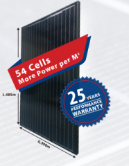 Spacesaver 250w-54 cell 250