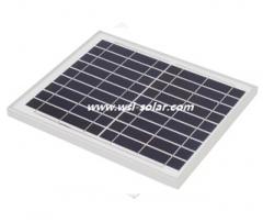 10 Wp 9 V Poly kristalline Solarmodul 10
