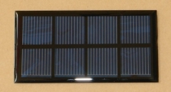 2V 400mA 0.8W small epoxy resin solar panel 0.8
