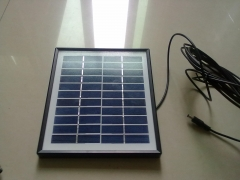 11 V 4.5 W solar panel in black frame 4.5