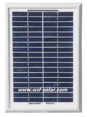 Solar panel 5 Watt 18 Volt for 12V battery charging
