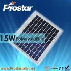 15W Poly Solar Panel