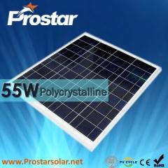 55W Poly Solar Panel 55