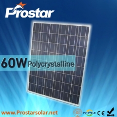 60W Poly Solar Panel 60