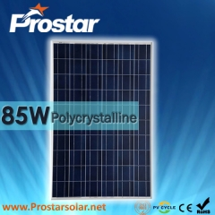 85W Poly Solar Panel