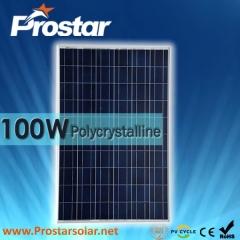 100W Poly Solar Panel 100