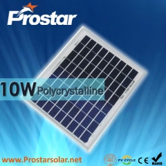 10W Poly Solar Panel 10