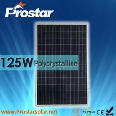125W Poly Solar Panels 125