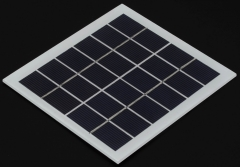 lightweight 6V 1.8W 0.3A rigid solar panel 1.8