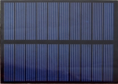 glazy solar panels for garden lights 1.2
