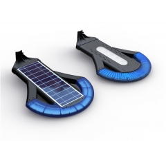 long shape solar panel for LED lighting 4