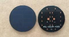 5v 40mA round PCB solar panel 0.2