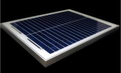 24W 18V blue-cell solar panel 24