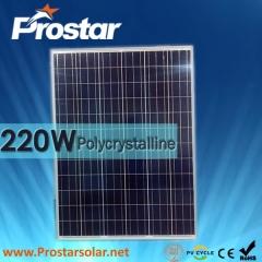 220W Poly Solar Panel 220