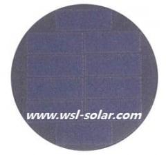 5V 40mA round solar panel - Sunpower solar cell panel