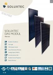 Soluxtec DAS MODUL FR60 250 - 265W Multi Serie