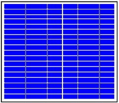 18V DC 10W off-grid solar panel 10