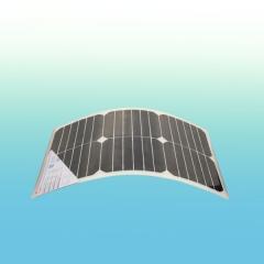 Flexible solar module 140