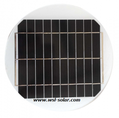 5V 4.8W Round Solar Module 4.8