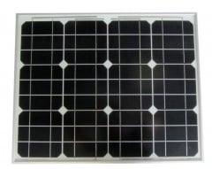 Monocrystalline photovoltaic modules 50 Wp 50