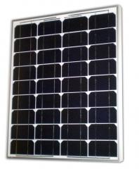 Monocrystalline photovoltaic modules 70 Wp 70