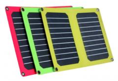 Sunpower solar panel charger + PET laminated
