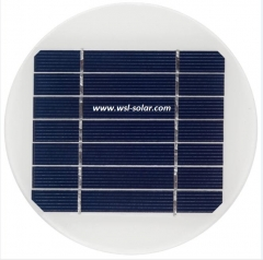 circular solar panel poly crystalline 1.5