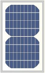 small monocrytalline 5W photovoltaic module 5