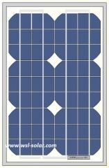 18V 16W monocrystalline solar panel 16