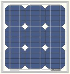 24W 18V monocrystalline solar panel 24