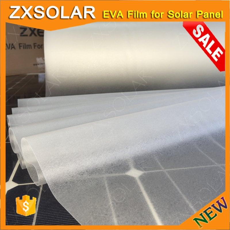 Z1261C encapsulant for flexible solar panel