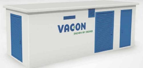 vacon® 8000 solar mv station