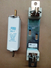 original SIBA fuse DC1000V/100A and fuse base