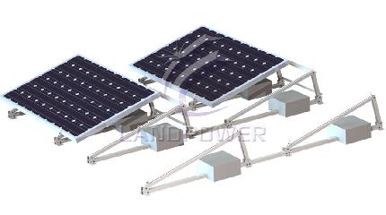 Non-Penetrating Flat Roof Solar Mounting Systems