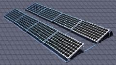 Flat Roof Rectangle Solution