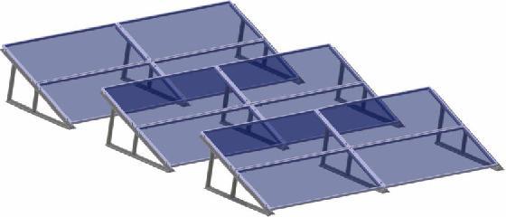 Nepc India Ltd 1m Solar Module Mounting Structure