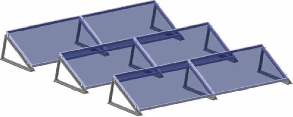 1M-Solar Module Mounting Structure
