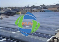 BSLPV-Ballasted Flat Roof PV Mounting System