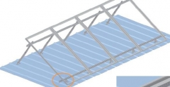 Tilt Angle Adjustable Roof Mounting System